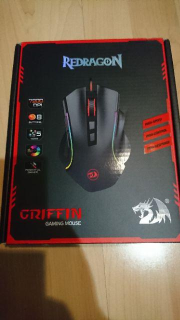 Redragon M607 Griffin 7200 DPI RGB Gaming Mouse | Shopee