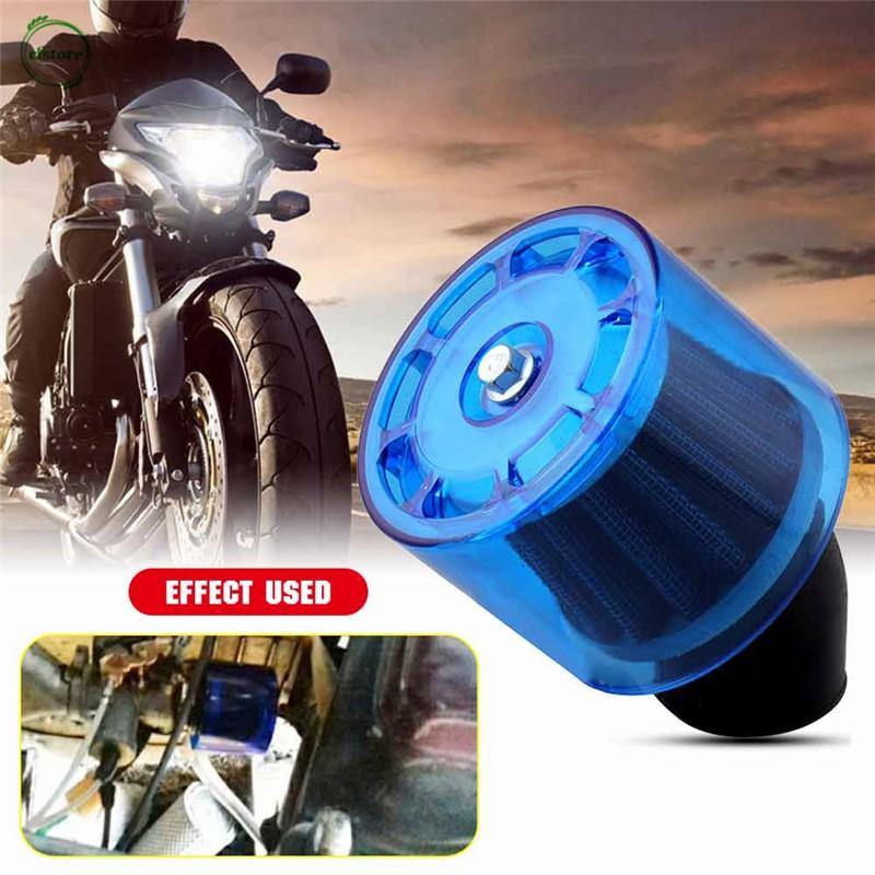 35mm Air Filter Cleaner 45 Degree Bend Splash Proof Plastics Cover Waterproof Motorcycle ATV Quad Scooter Go Kart Moped Pit Dirt Racing Super Pocket Bike