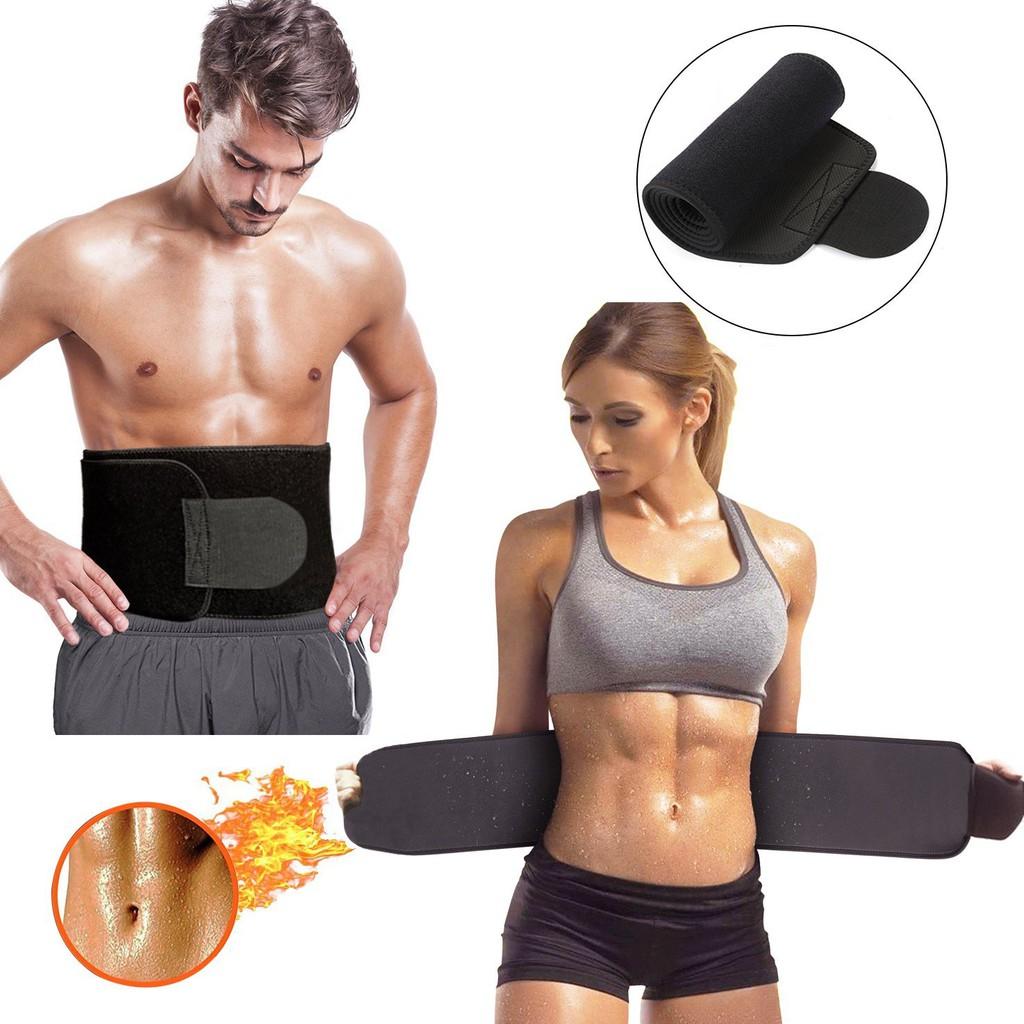 Medium Slimming Shaper Belt Unisex Neoprene Wrap Sauna Waist Slimmer Fat Burning
