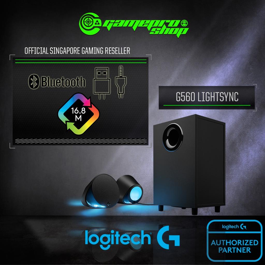 LOGITECH G560 LIGHTSYNC PC GAMING SPEAKER WITH BLUETOOTH