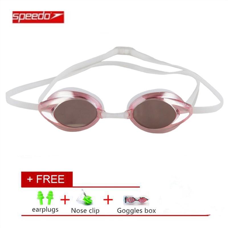 d5d0e13225a SPEEDO Waterproof Swimming Goggles Anti Fog Swimming Glasses ...