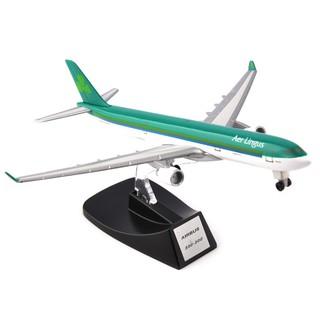AerLingus A330-300 Green Airbus Model Diecast Aircraft Plane