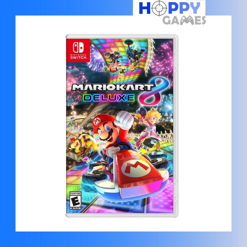 *FREE SHIPPING* Mario Kart 8 Deluxe Nintendo Switch [ASIA]