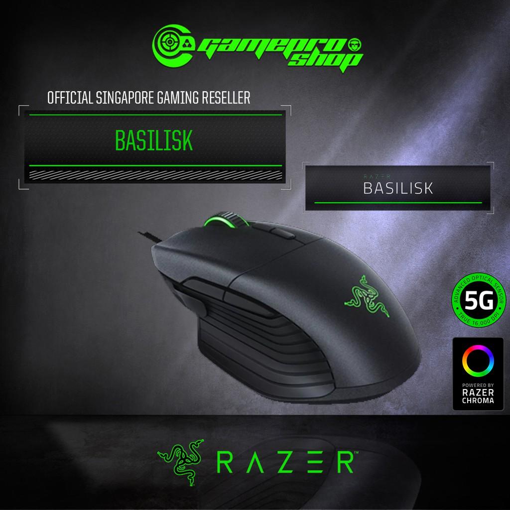 Razer Basilisk – Multi-Color FPS Gaming Mouse
