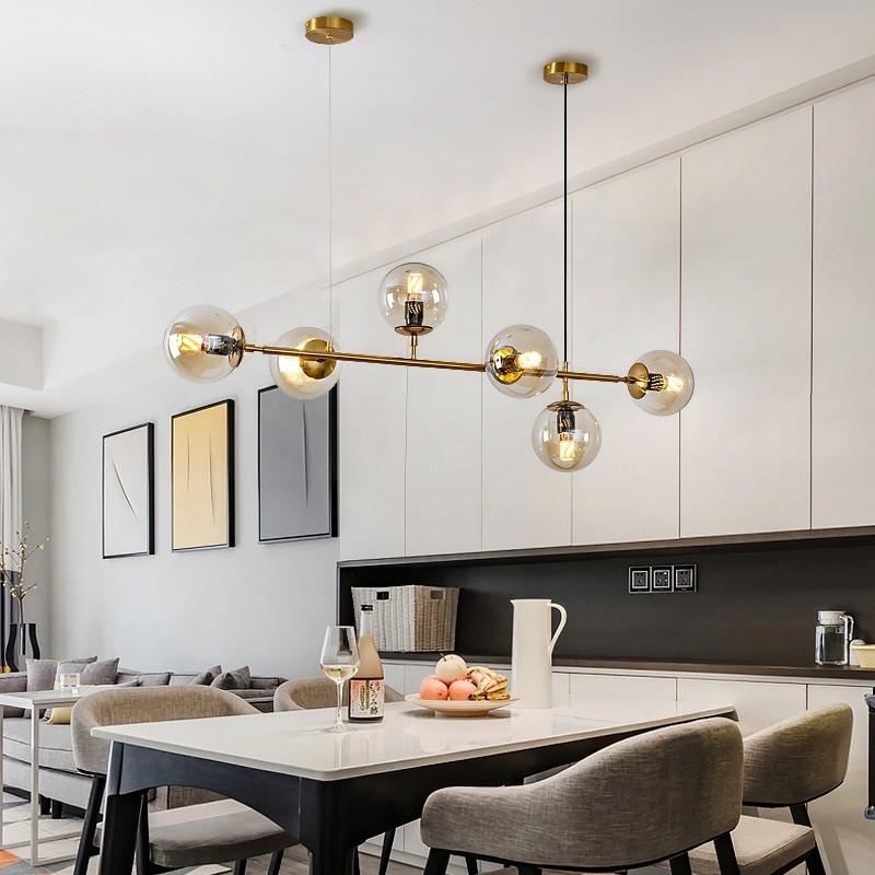 Nordic Adjustable Dining Table Light, Dining Room Pendant Light