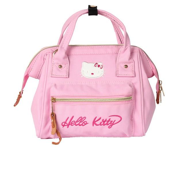 b493e2ffb7f7 House Of Hello Palm Print Constance Pink Bag Small (空姐包手掌纹粉 ...