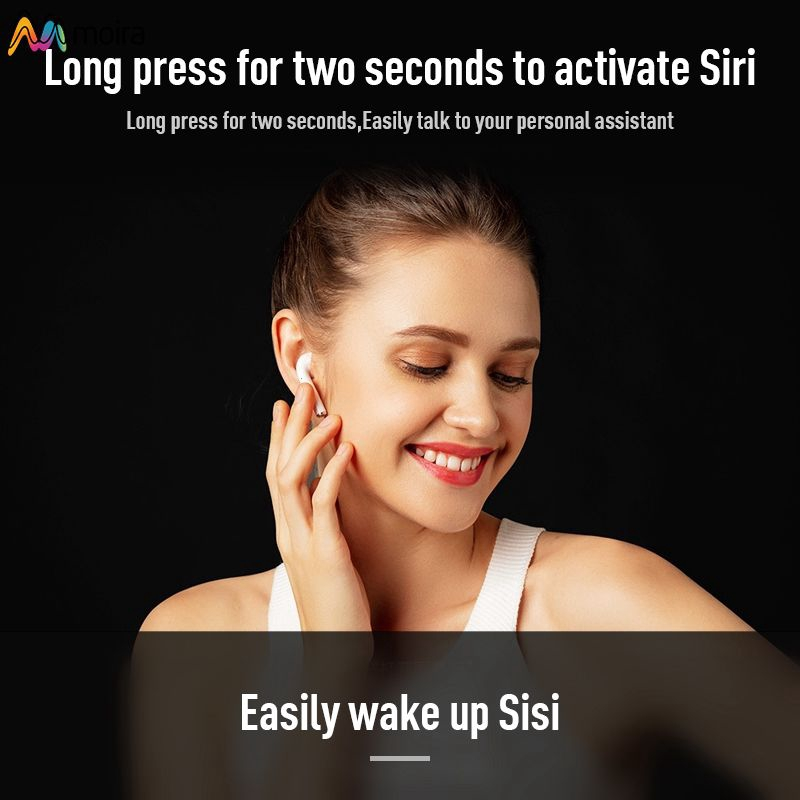 ✔ New I9 Touch Wireless Headphone for IOS Android Half Ear Sports  Headphones Moira