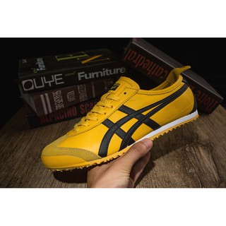 quality design b1395 9c105 Onitsuka Tiger Ultimate 81 Fashion Sneaker Yellow Black ...