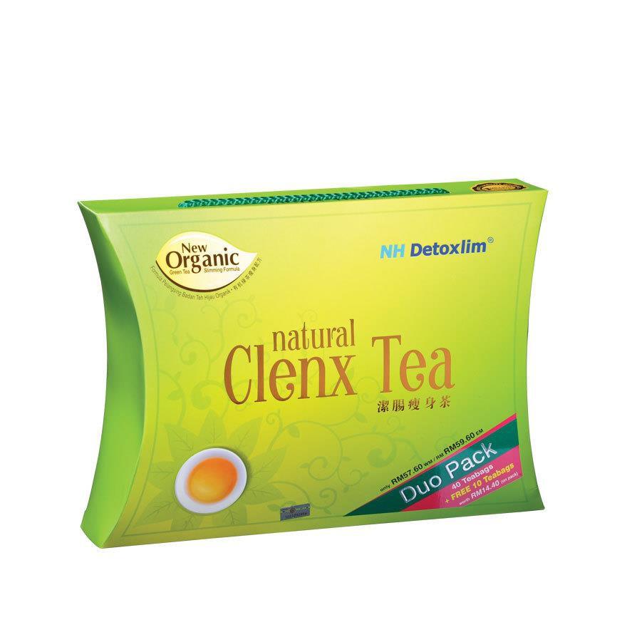 NH Detoxlim Natural Clenx Tea 55 bags (3g each bag) Effective for Detox