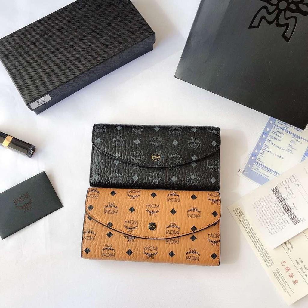 27bd908e4089 Mcm top goods counter new beanie three fold wallet | Shopee Singapore