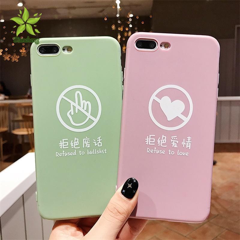 😸 Simple Couple Phone Case For VIVO Y97/Y55/Y66/Y83/Y85/Y67/Y71/Y75
