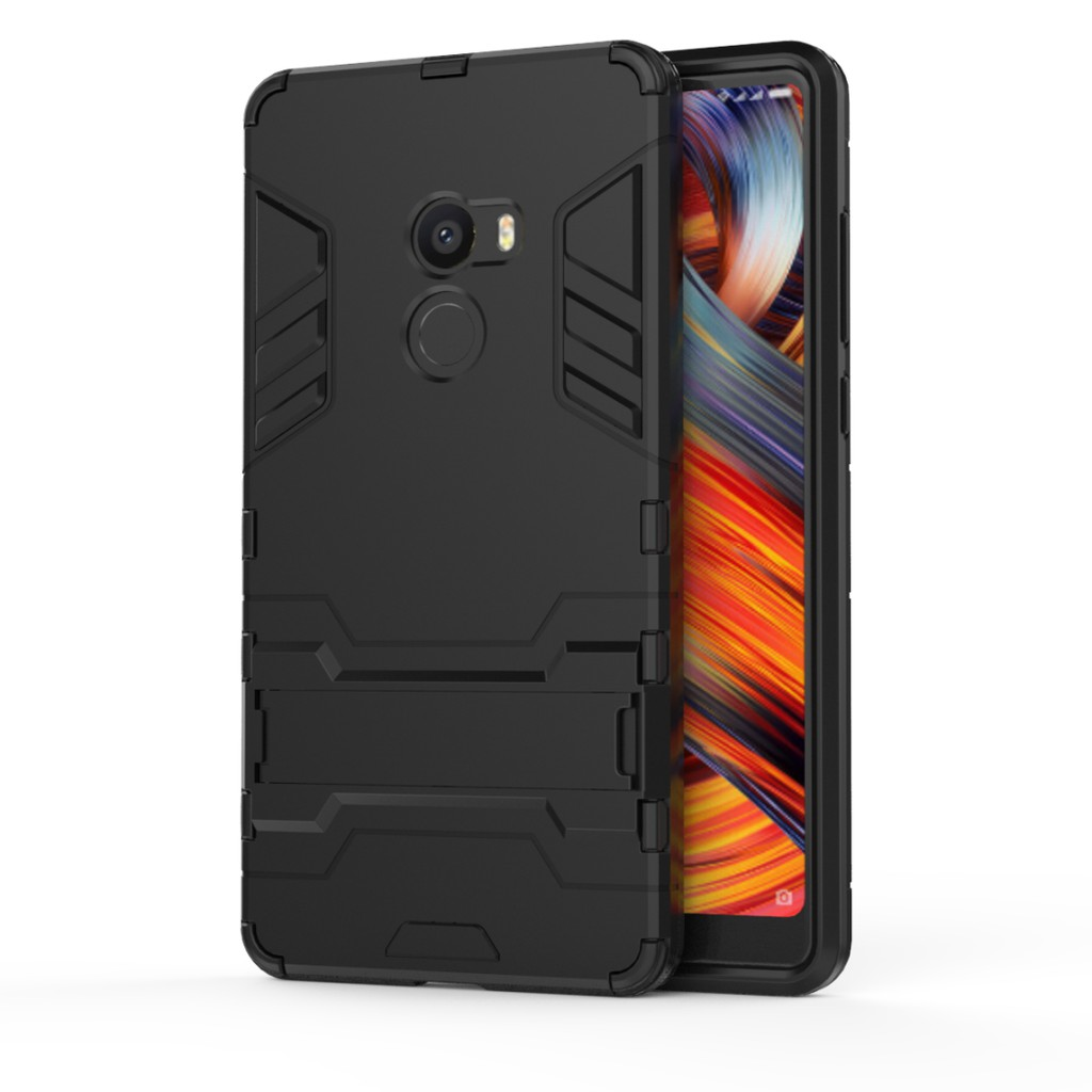 OPPO R17/R17 Pro Case Ironman Stand PC TPU Armor Phone Casing Full Cover | Shopee Singapore