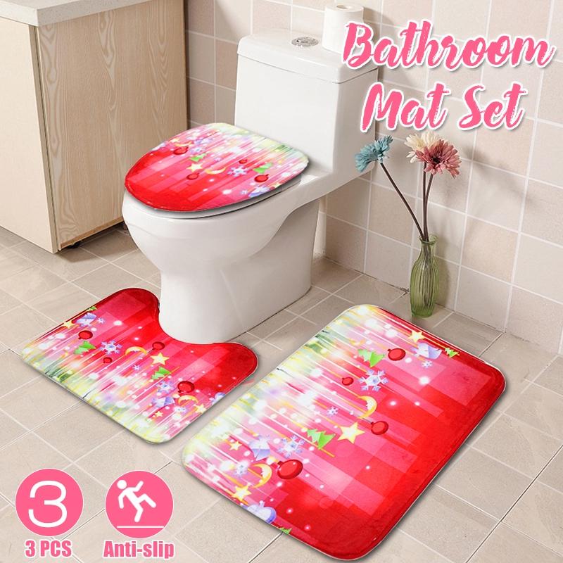 Bathroom Toilet Rug Floor Mat