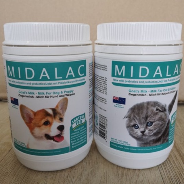 Midalac Goat S Milk Powder For Cat Kitten Or Puppy 200g Susu Kucing Susu Kitten Susu Anjing Shopee Singapore