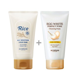 Rice Brightening Scrub Foam by Skinfood #22
