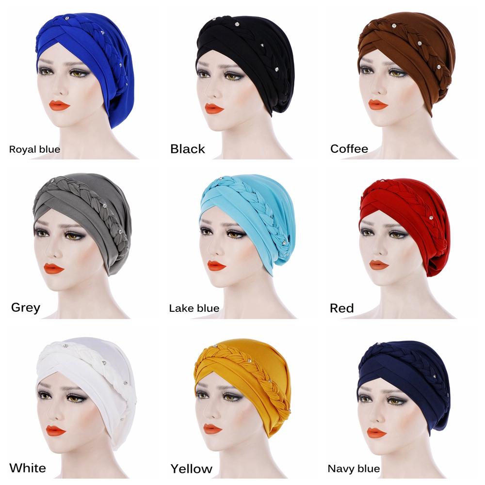 Hair Loss Fashion Accessories Head Scarf Head Wrap Turban