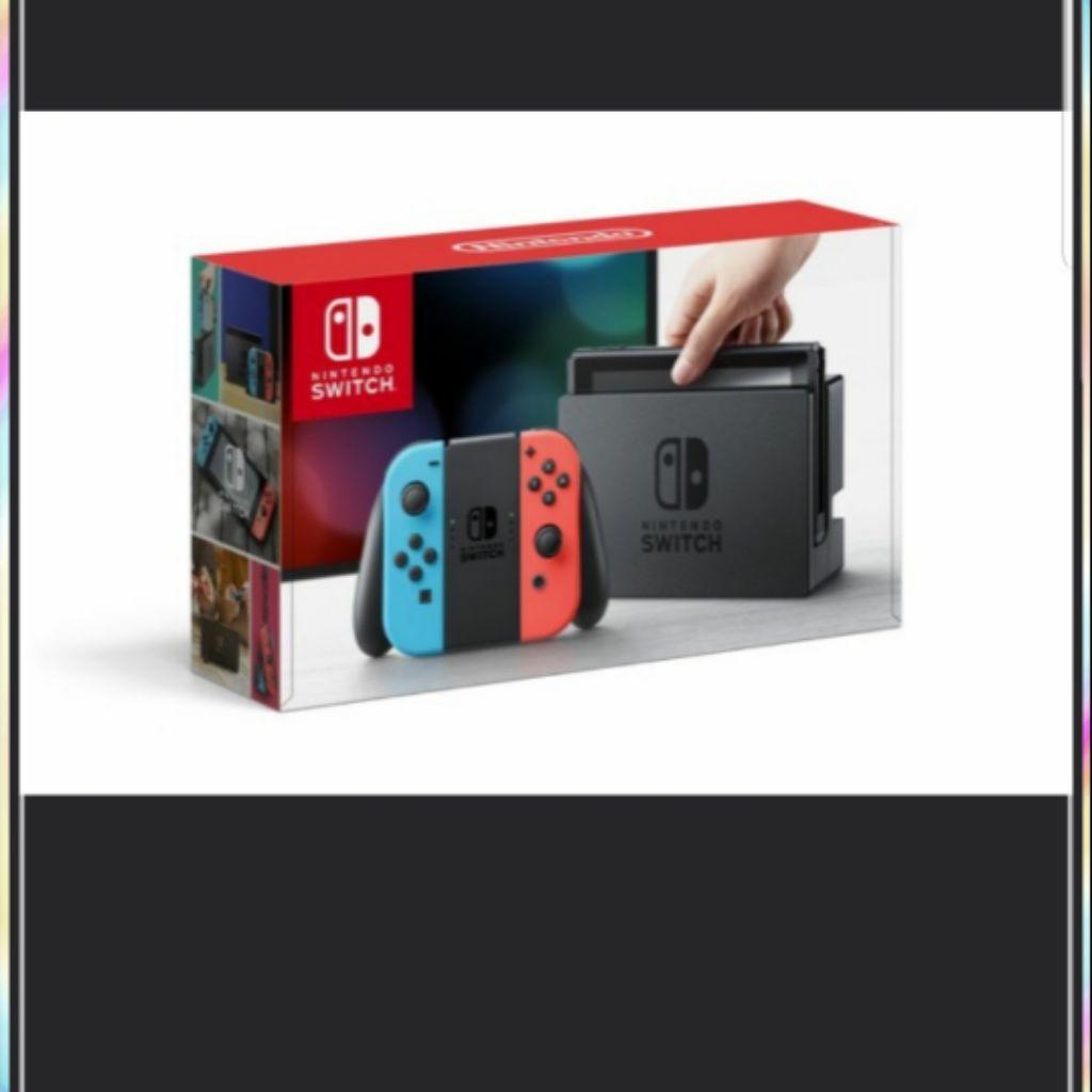 (pls read) Nintendo switch console