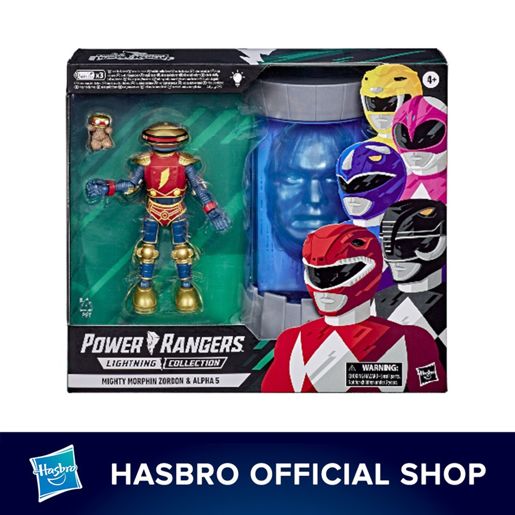 Power Rangers Lightning Collection Mighty Morphin Zordon and Alpha 5 2-Pack