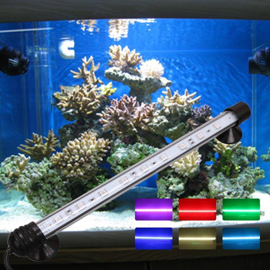 Led Underwater Lights Glorious Led Aquarium Submersible Lamp Aquarium Fish Tank Plant Dc 12v Led Light Waterproof Ip68 Bar Lamp