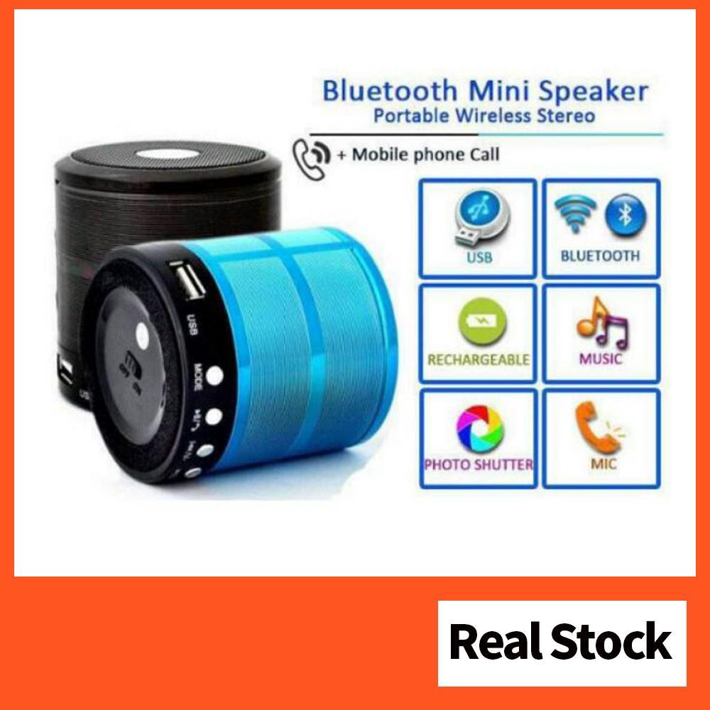 Mini Portable Bluetooth Speaker | Shopee Singapore