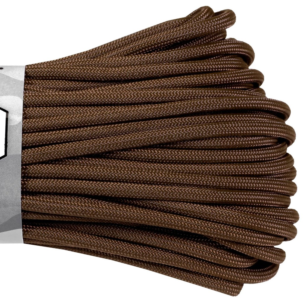 Atwood Rope MFG Parachute Cord Brown S07 BROWN