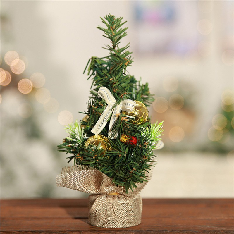 60cm Tabletop Artificial Small Mini Christmas Tree With Led Light
