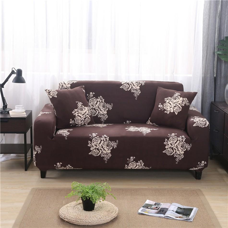 Sectional Sofa Covers Elastic L Shape