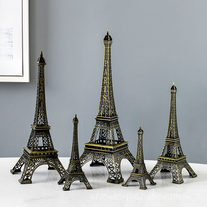 Room Birthday Crafts Eiffel Tower Wine Cabinet Decoration Home Living Room Gift Paris Women S Dress Accessories Des Shopee Singapore