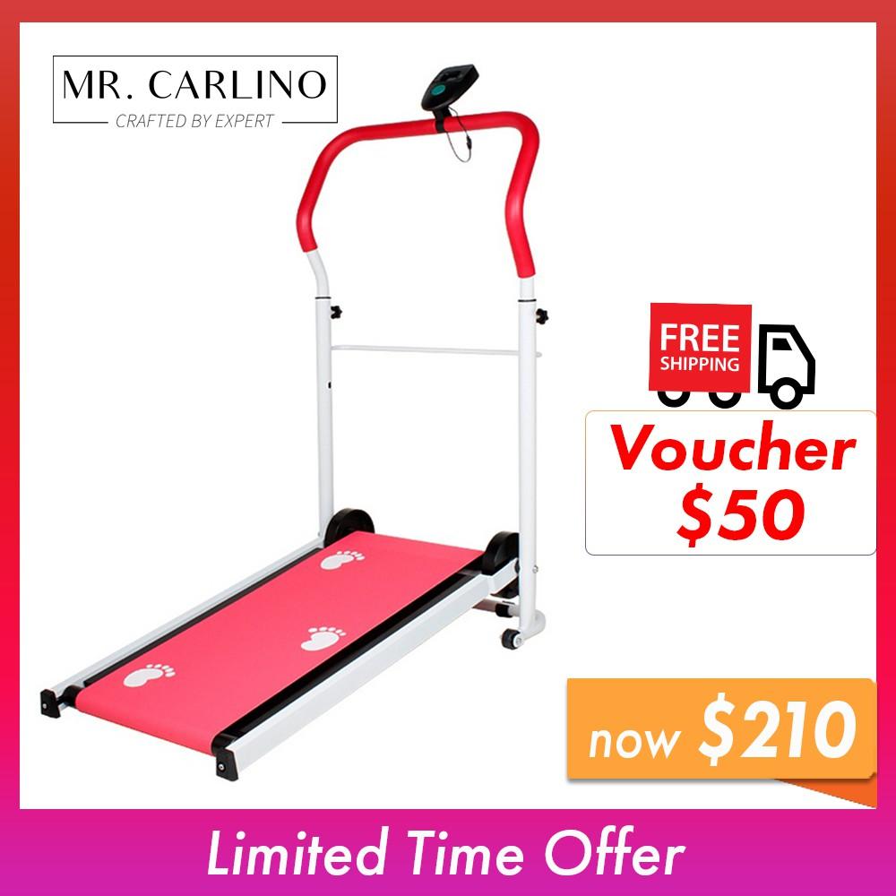 Home Indoor Fitness Mini & Foldable Treadmill Design B
