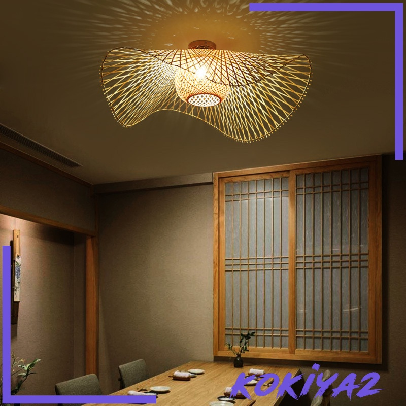 Rattan Lampshade Living Room Ceiling, Living Room Ceiling Lamp Shades