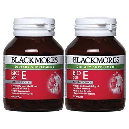 Blackmores Bio E500iu 120 Capsules (60S X 2) BLACKMORES BIO E 500IU