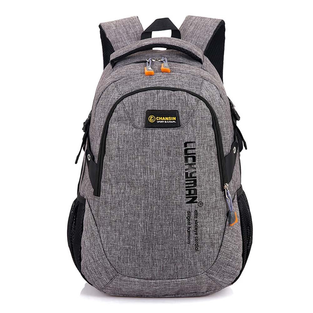 Portfolio School Bag Waterproof Travel Laptop Backpack Male Men Notebook For