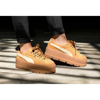 meet fa7b6 71be0 FENTY Suede Cleated Creeper Inspired | Shopee Singapore