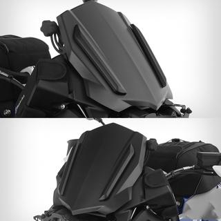Z 250 Motorcycle Smoke Windshield Windscreen Front Wind