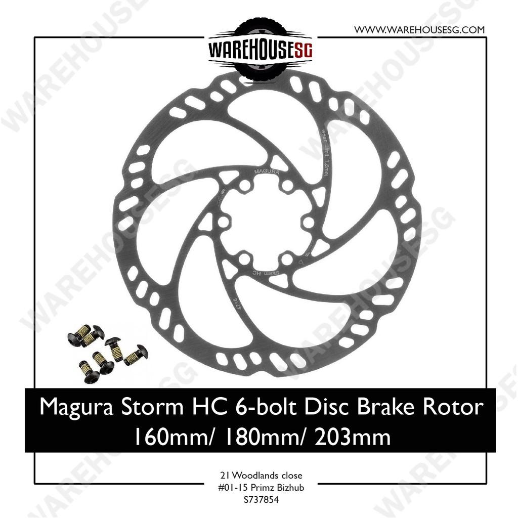 Magura Storm HC Rotor 180mm 6-Bolt