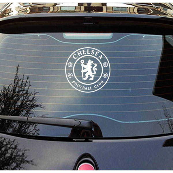 Fun Car Sticker Chelsea F C Car Mirror Door Bumper Window Body Styling Personality Shopee Singapore