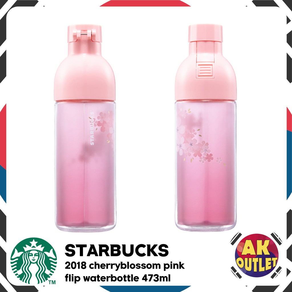 Starbucks KOREA 2018 Cherry Blossom Concord Tumbler card Sakura paper bag pouch