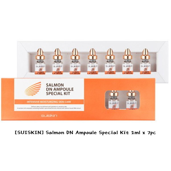 [SUISKIN] Salmon DN Ampoule Special Kit 2ml x 7pc / K-BEAUTY