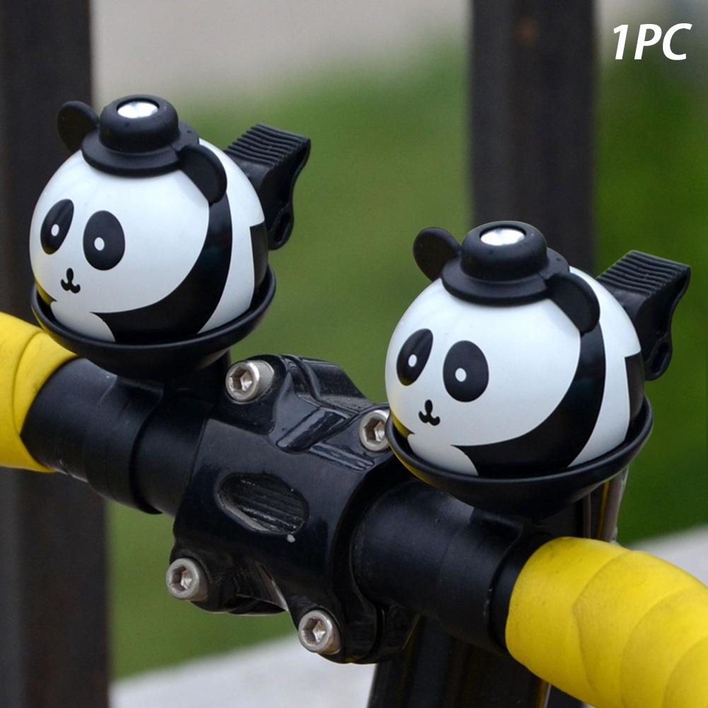 N+1 Bike Bicycle Handlebar Bell Panda Black White Mini Ring Bell 22.2mm