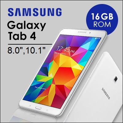 Samsung Galaxy Tab 4 / 8 0 inch / Wi-Fi+4G / 1 5GB RAM / 16GB ROM / Android  Tablet /Demo Set