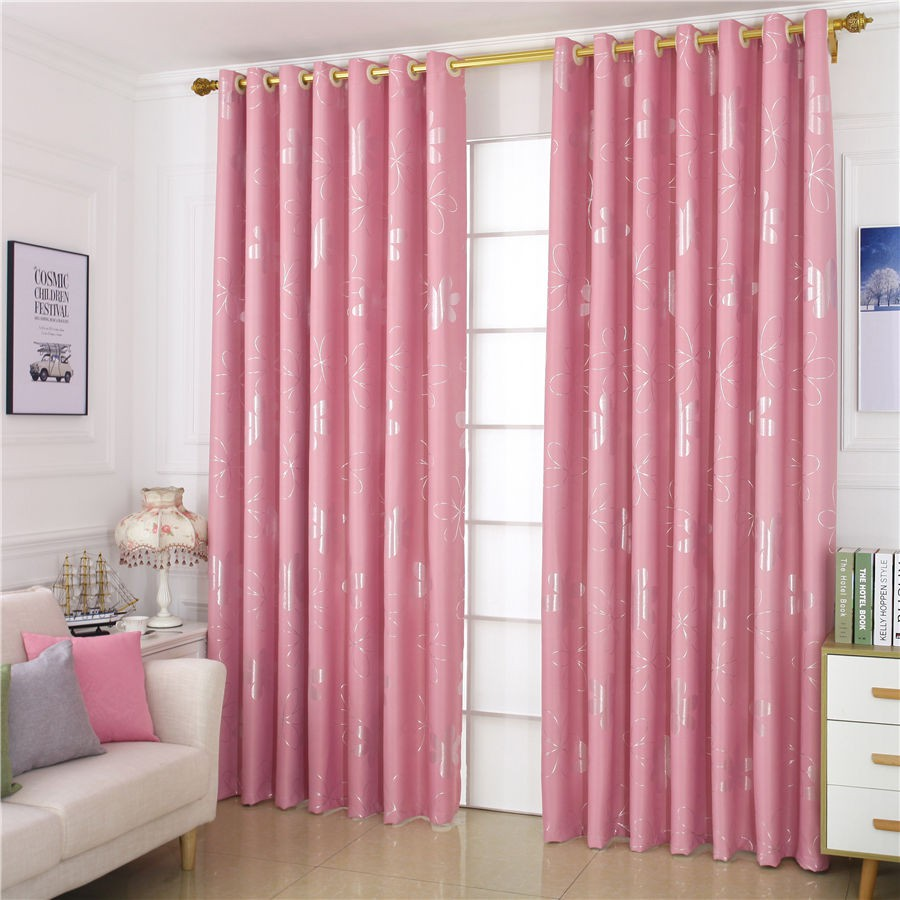 Bedroom Luxury Thicken Curtains Finished Living Room Shade Hook ...