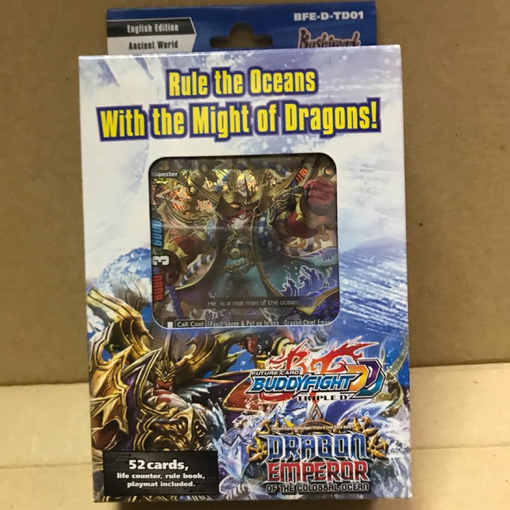 Buddyfight dragon emperor of the colossal ocean