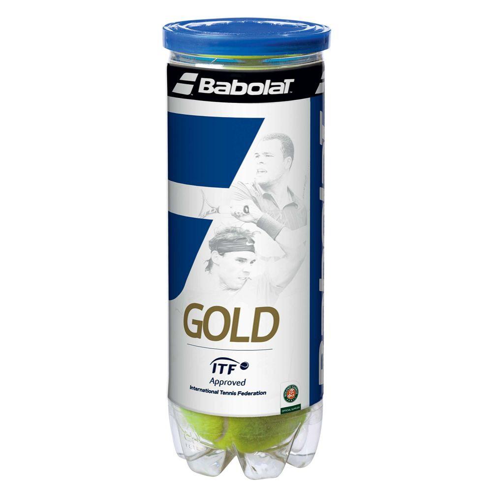 Babolat Orange Tennisb/älle 3 Ball Can
