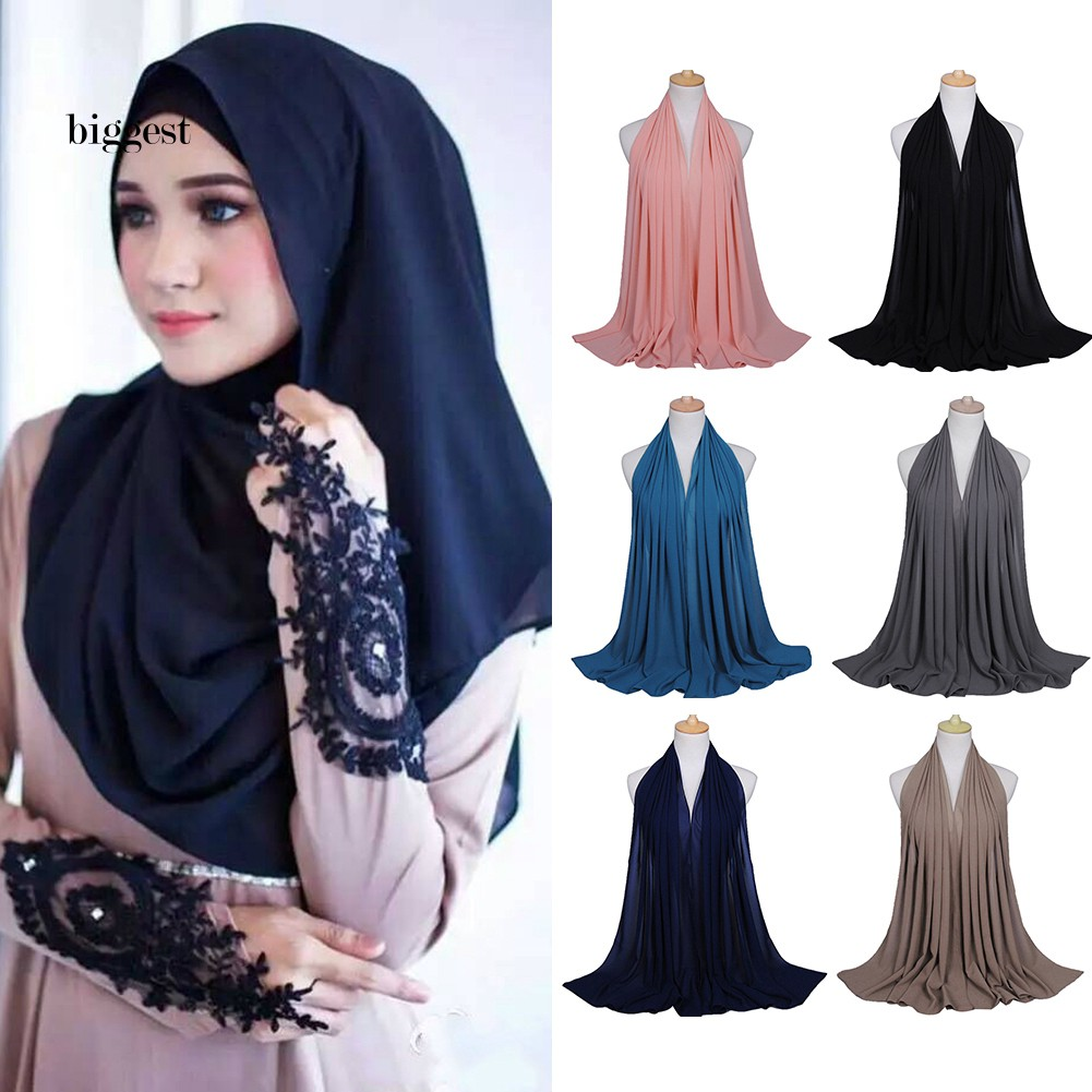 Fashion Women Muslim Sequin Long Hijab Scarf Tassel Shawls Wrap Arab Scarves New