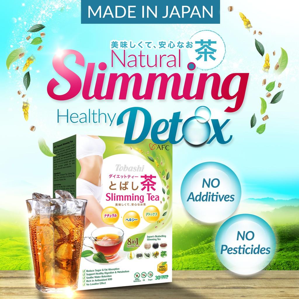 tentang slimming tea