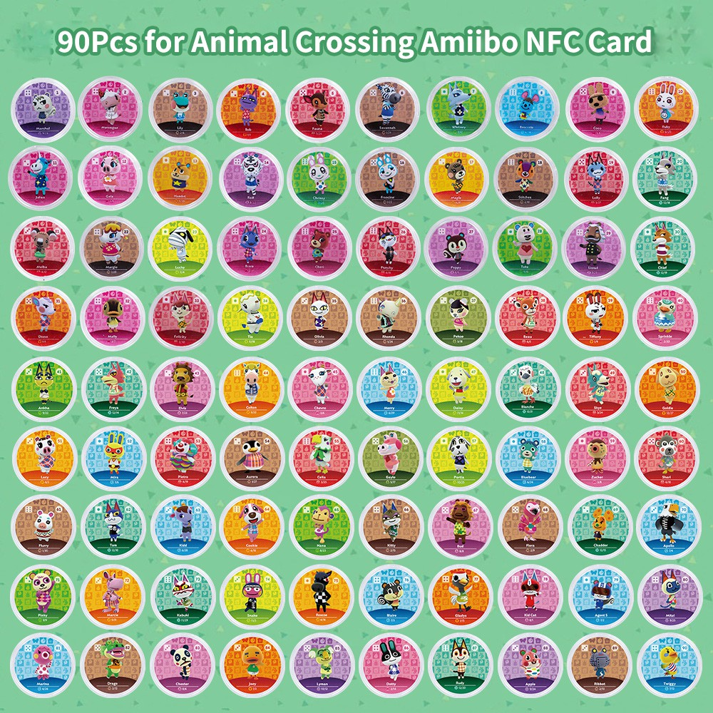 NFC Card for Nintendo Switch 3DS Animal Crossing Amiibo ...