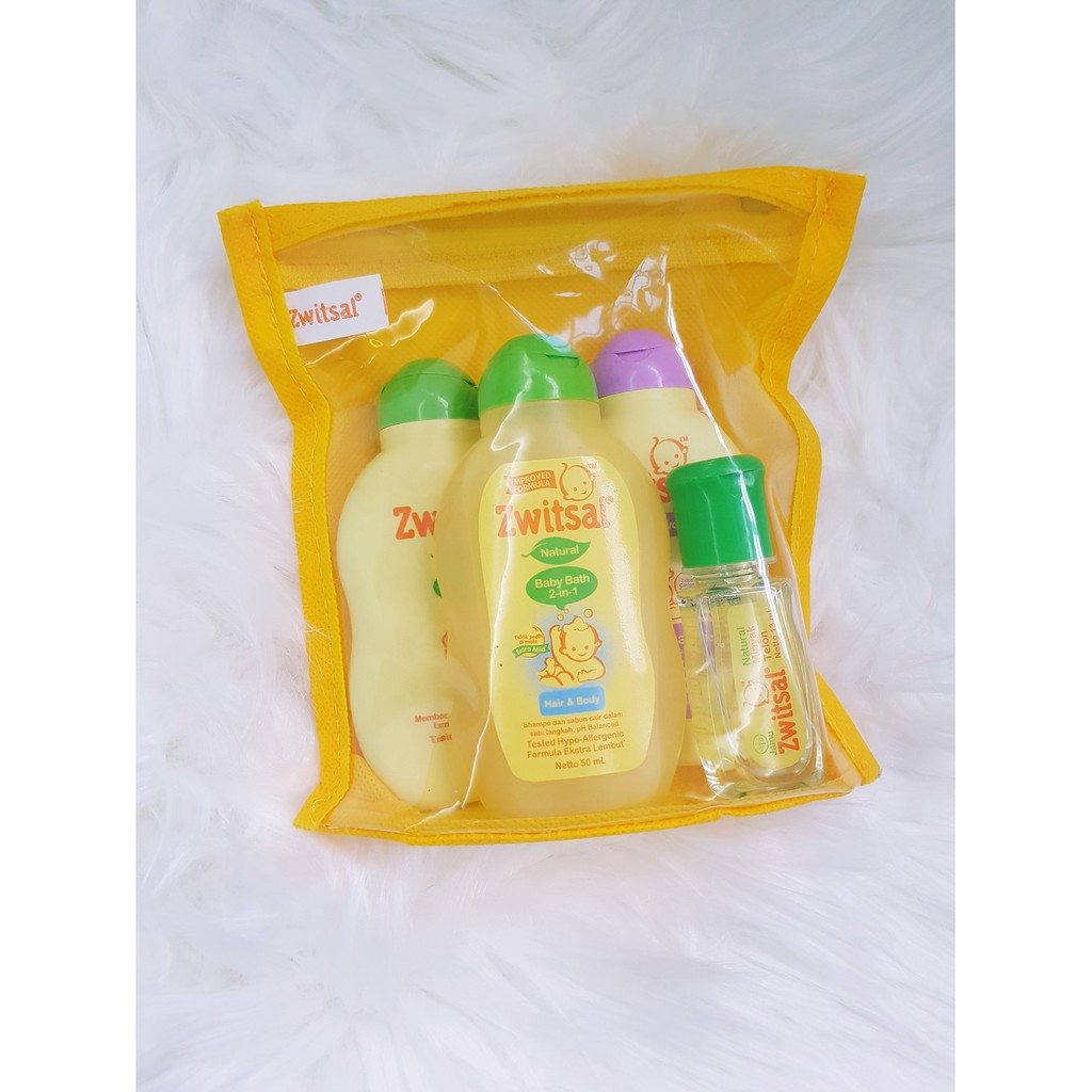 Zwitsal Cologne Fresh Day Classic 100ml Travel Pack 4in1 Shopee Singapore