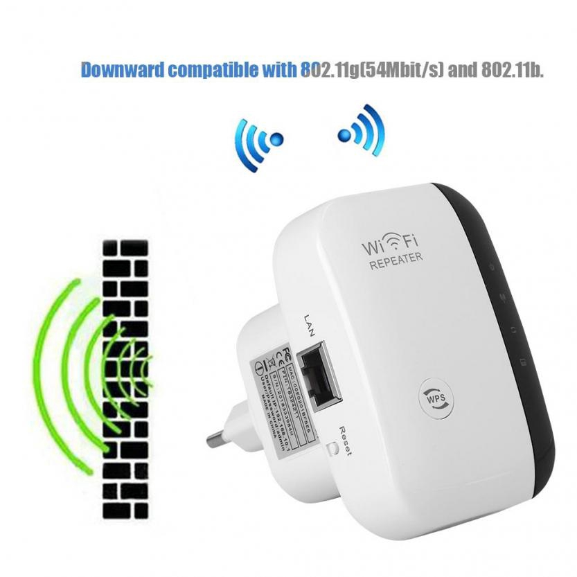 Wireless 300Mbps Repeater Network Router Wifi Signal Extender Range Booster BT