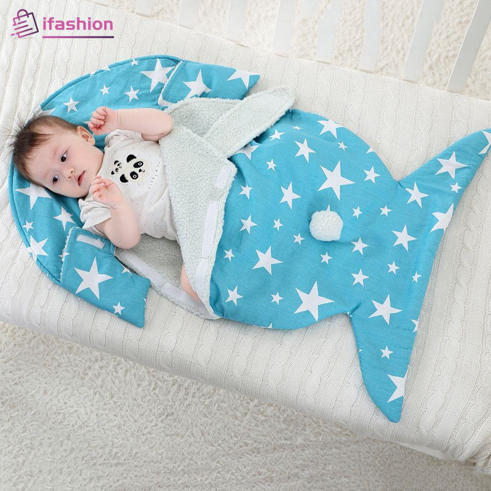 Oenbopo Baby Rabbit Ear Swaddle Wrap Soft Warm Fleece Lined Sleeping