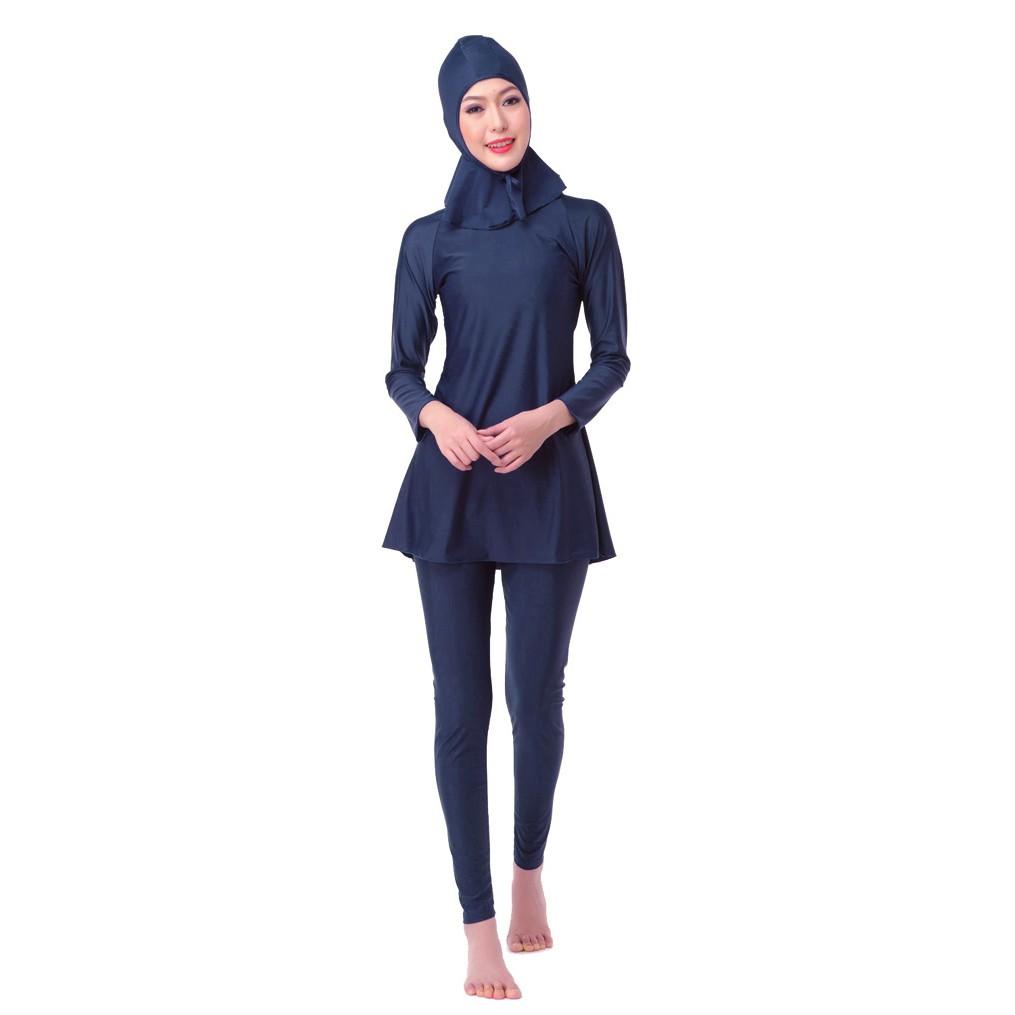 d099442b50c Modest Muslim Swimwear Islamic Swimsuit For Women hijab ...